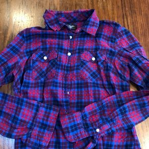 Aeropostale Plaid flannel shirt